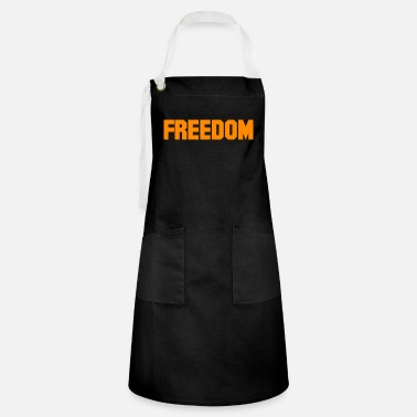 Freedom Of Expression Freedom - Artisan Apron