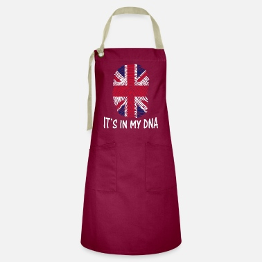 Reino Unido flag of the United Kingdom it's in my DNA - Artisan Apron