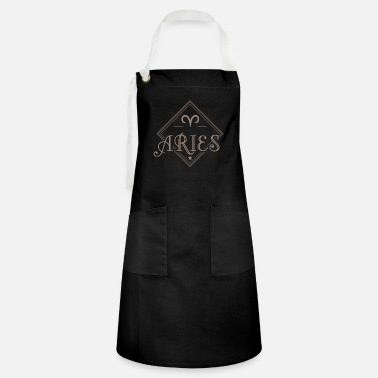 Aries Aries Aries April Aries - Artisan Apron