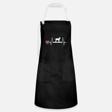 Gordon Setter heartbeat gift for dog owners - Artisan Apron