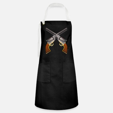 Country Western Colts crossed - Artisan Apron