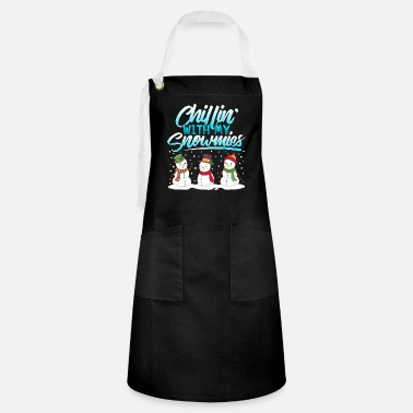 Christmas Snowman chill winter Christmas gift - Artisan Apron