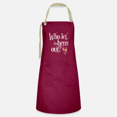 Hen Party Quotes Hen Party Party Quote Stripper - Artisan Apron