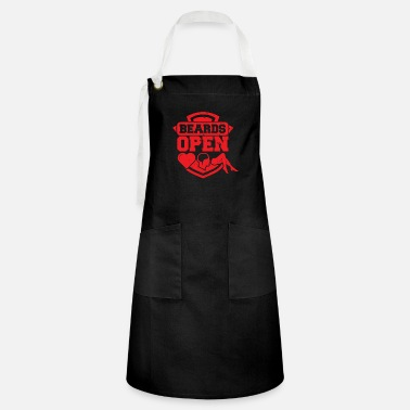 Open Beards Open - Kontrastförkläde