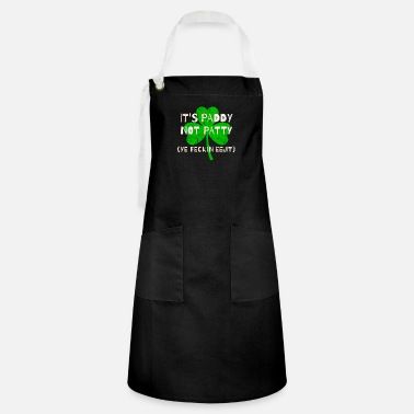 Feckin Feckin Eejit Distressed for St Paddy's Day - Artisan Apron