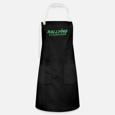 Rallying Rally Rally Car Rallies Rally Rally - Artisan Apron
