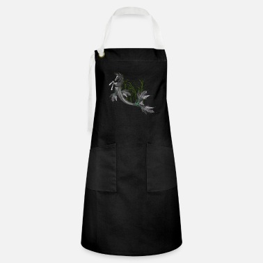 Swimming Mane Awesome seahorse - Artisan Apron