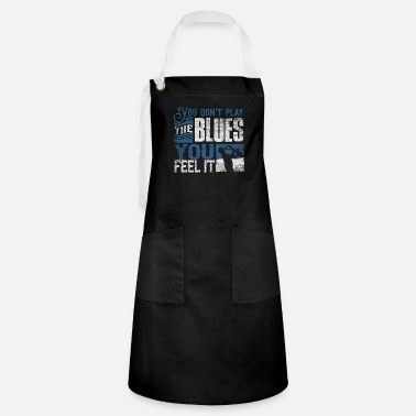 Blues blues - Artisan Apron
