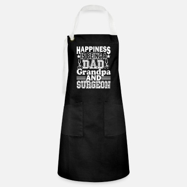 Cool Surgeon Dad Grandpa And Surgeon - Artisan Apron