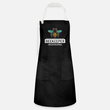 Beekeeper Best In The World Bees Bee - Artisan Apron