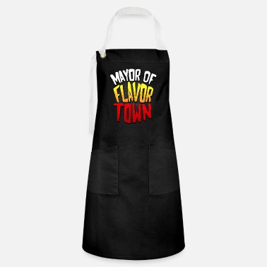 Bold design for Mayor of Flavor Town design - Artisan Apron