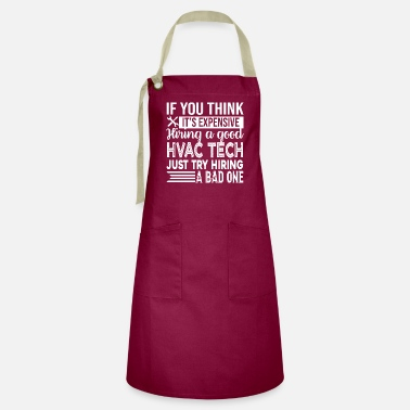 Love Hvac Technician HVAC Technician Good HVAC Technician - Artisan Apron