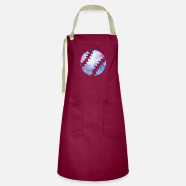 Baseball Player Baseball baseball player - Artisan Apron
