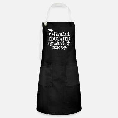 Mother-to-be Motivated Educated Graduated 2020 - Artisan Apron