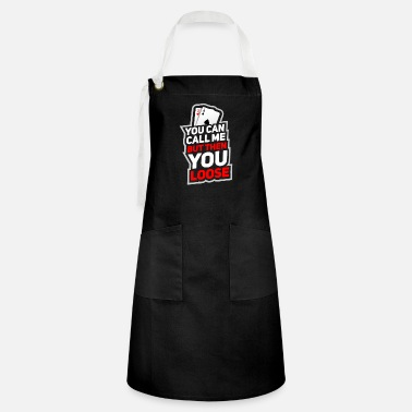 Bluff Poker Texas Holdem Poker Player - Artisan Apron