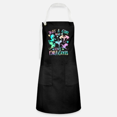 Biest Just a girl who loves dragons - Artisan Apron
