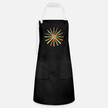 Rock Music Drums drumsticks gift - Artisan Apron
