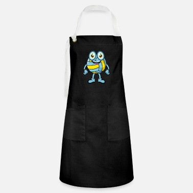 Character volleyball - Artisan Apron