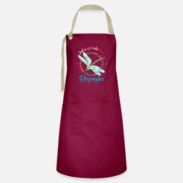 Fly-insect Dragonfly girl - Artisan Apron