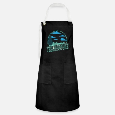 Helped Dome Yellowstone National Park Outdoor Hiking - Artisan Apron