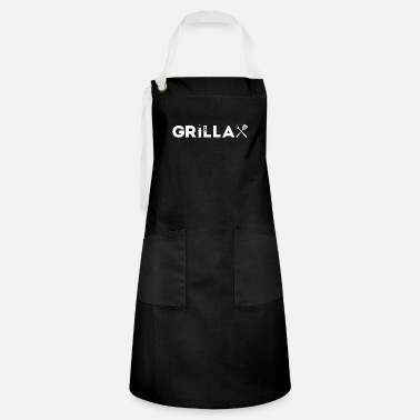 Grillax - Grilling, relaxing and enjoying life - Artisan Apron