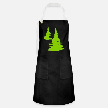Tree trees - tree - Artisan Apron