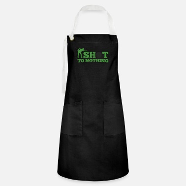 Snooker shot to nothing - Artisan Apron