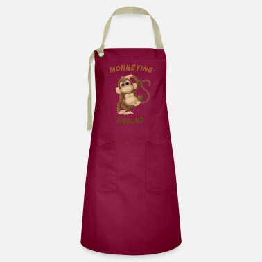 Around monkeying around - Artisan Apron