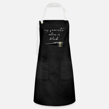 John Maiolo My favorite color is black - Artisan Apron