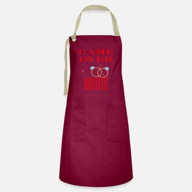 Bride - Game over gift - Artisan Apron
