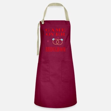 Bridegroom - Game over gift - Artisan Apron