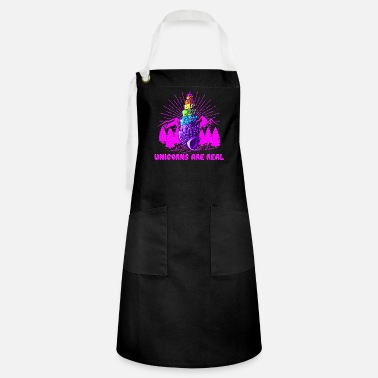 Irie Unicorns are real, camping ed. - Artisan Apron