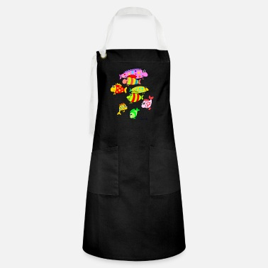 Tropical Fish Tropical fish - Artisan Apron