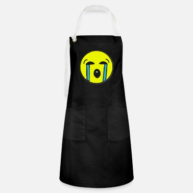 crying emoji - Artisan Apron