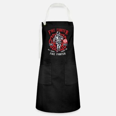 Fire Fighter Fire Fighter - Artisan Apron