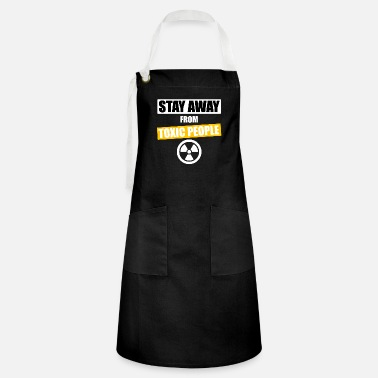 stay away funny t-shirts - Artisan Apron
