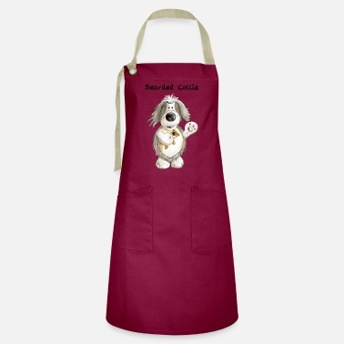 Collie Bearded Collie With Teddy - Artisan Apron