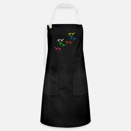 Sunglasses Aprons - Sunglasses - Artisan Apron black/white