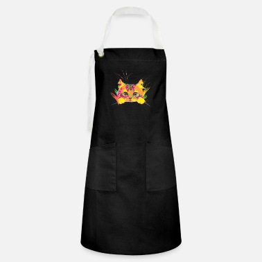 Crittercontest crittercontest cat moosdsign 01 - Artisan Apron