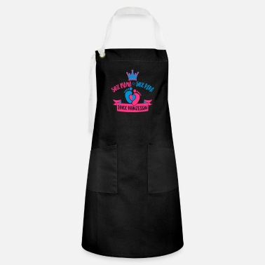 Princess 50% Mommy 50% Daddy 100% Princess - baby - birth - Artisan Apron