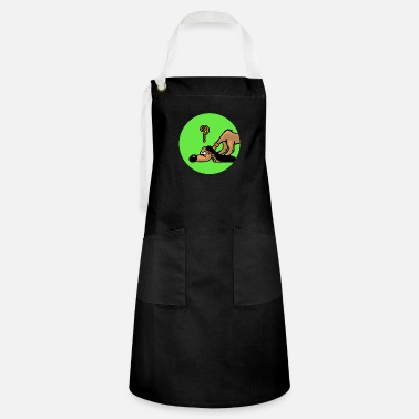 Search Dog Search dog dog - Artisan Apron