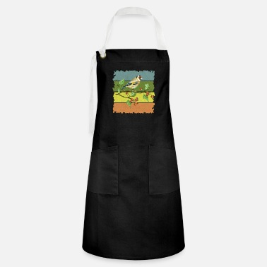 Feather Colorful bird - Artisan Apron