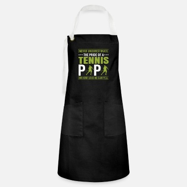 Never Underestimate The - Artisan Apron