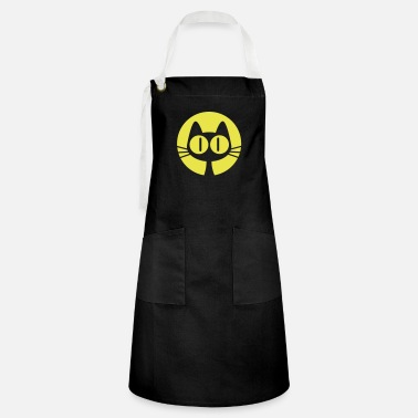 Moon Moon Cat Cartoon by Cheerful Madness!! online shop - Artisan Apron