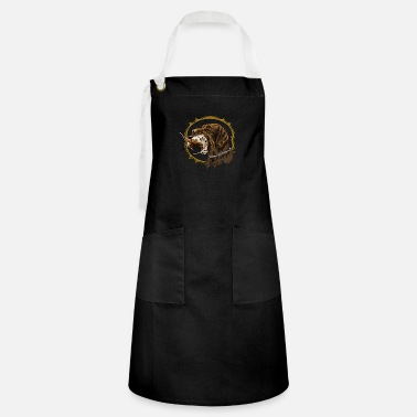 Gwp drahthaar_and_woodcock - Artisan Apron