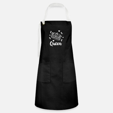 Guinea Pigs And queen hearts - Artisan Apron