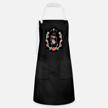 Trend Underwear Power Woman Feminism Gas Mask Rose Sexy Pride - Artisan Apron