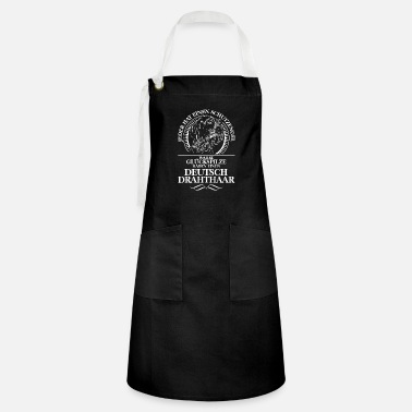 Drahthaar ENGLISH DRAHTHAAR Guardian Angel Wilsign's gift - Artisan Apron
