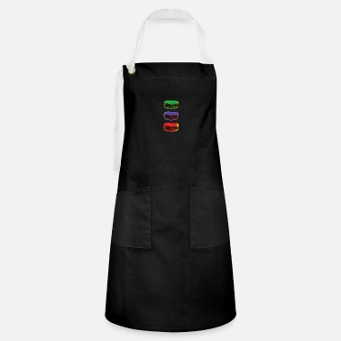 Pop Art Trashy Pop Art Burger Pop Art - Artisan Apron