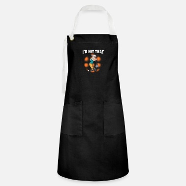 Golf Golfer Golfing Golf Course I'd Hit That - Artisan Apron